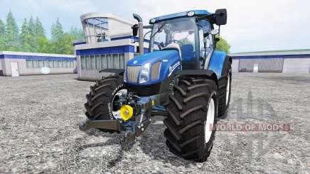 New Holland T6.160 [blue power] v1.1 for Farming Simulator 2015