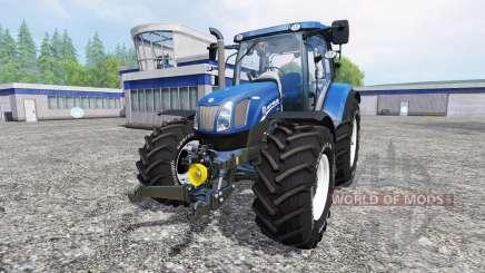 New Holland T6.175 v1.2 for Farming Simulator 2015