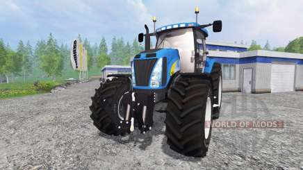 New Holland T8020 v2.2 for Farming Simulator 2015