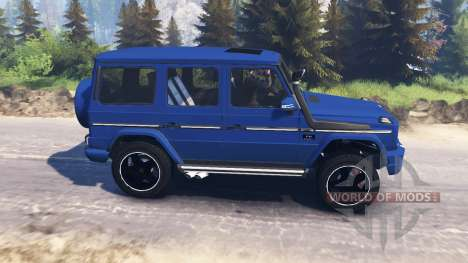 Mercedes-Benz G65 AMG v3.0 for Spin Tires