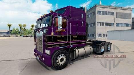 Conrad Shada skin for Kenworth K100 truck for American Truck Simulator