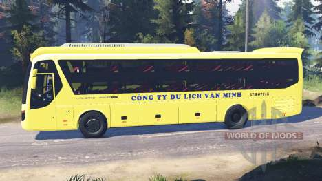 Hyundai Universe for Spin Tires