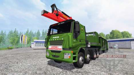 Iveco Stralis [wood chippers] v1.1 for Farming Simulator 2015