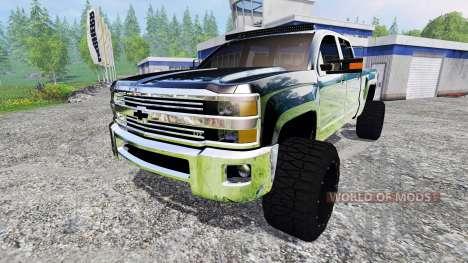 Chevrolet Silverado 2500 (GMTK2H) v3.0 for Farming Simulator 2015