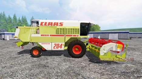 CLAAS Mega 204 for Farming Simulator 2015