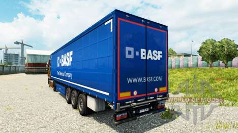 BASF skin for trailers for Euro Truck Simulator 2