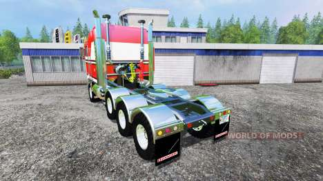 Kenworth K100 v2.1 for Farming Simulator 2015