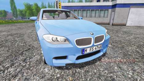 BMW M5 (F10) 2011 [zivil kdow] for Farming Simulator 2015