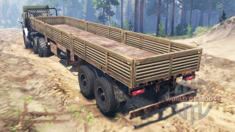 KamAZ-5410 6x6 for Spin Tires