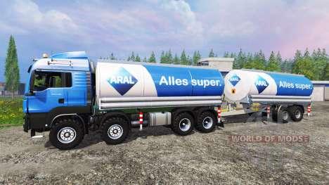 MAN TGS 41.480 Aral for Farming Simulator 2015