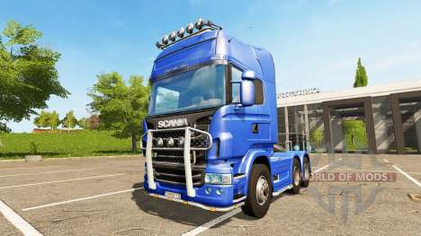 Scania R730 Topline for Farming Simulator 2017