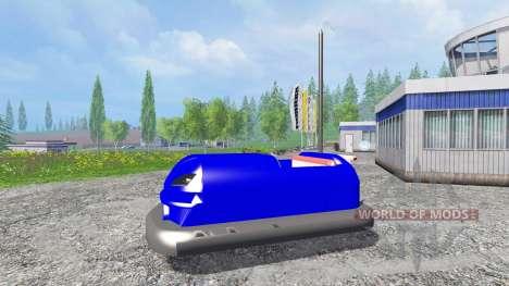 Bumper machine for Farming Simulator 2015