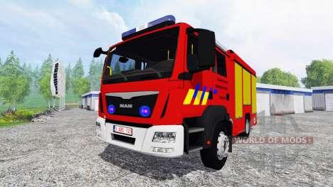 MAN TGM Feuerwehr for Farming Simulator 2015