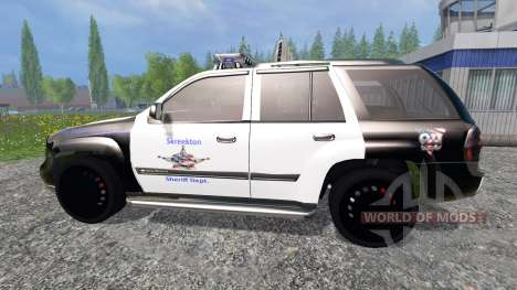 Chevrolet TrailBlazer Police K9 for Farming Simulator 2015