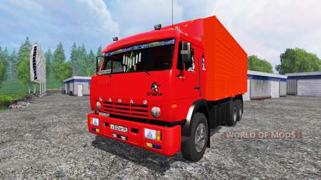 KamAZ-53212 [red] for Farming Simulator 2015
