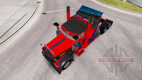 Skin Nevada USA for the truck Peterbilt 389 for American Truck Simulator
