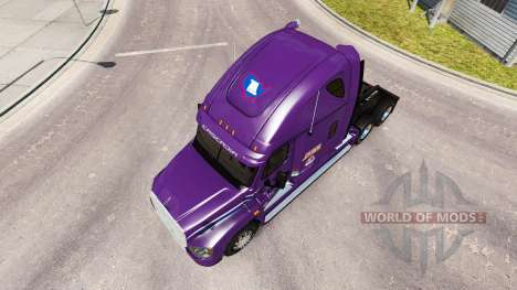 Skin Covenant on tractor Freightliner Cascadia for American Truck Simulator