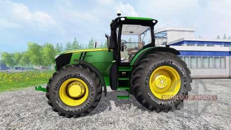 John Deere 7280R v3.0 for Farming Simulator 2015