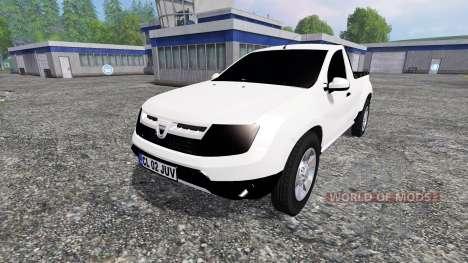 Dacia Duster Pickup for Farming Simulator 2015