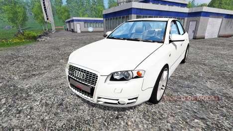 Audi A4 (B7) for Farming Simulator 2015