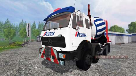 Mercedes-Benz NG 1632 Cemex for Farming Simulator 2015