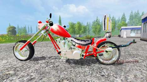 Harley-Davidson v4.0 for Farming Simulator 2015