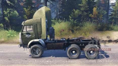 KamAZ 5410 v2.0 for Spin Tires