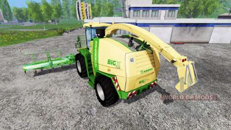 Krone Big X 1100 for Farming Simulator 2015
