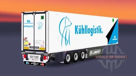 Semitrailer reefer EN Transdanubia for Euro Truck Simulator 2