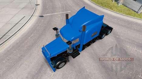 Skin Hot Road Rigs for the truck Peterbilt 389 for American Truck Simulator