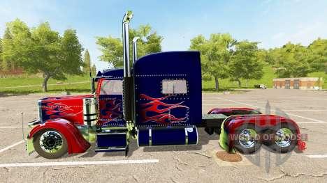 Peterbilt 388 Optimus Prime for Farming Simulator 2017