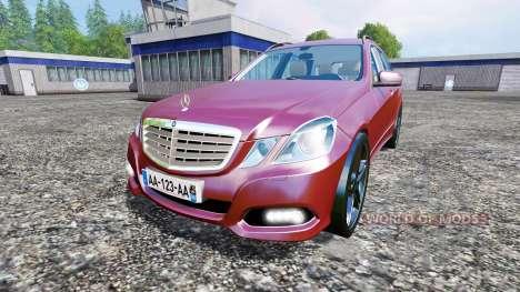 Mercedes-Benz E350 Estate (S212) for Farming Simulator 2015