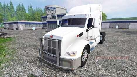 Peterbilt 579 for Farming Simulator 2015