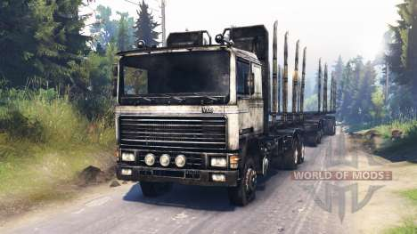 Volvo FL for Spin Tires