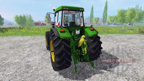 John Deere 7810 FL [washable] v3.0 for Farming Simulator 2015