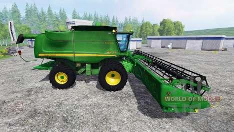 John Deere 9670 STS v2.0 for Farming Simulator 2015