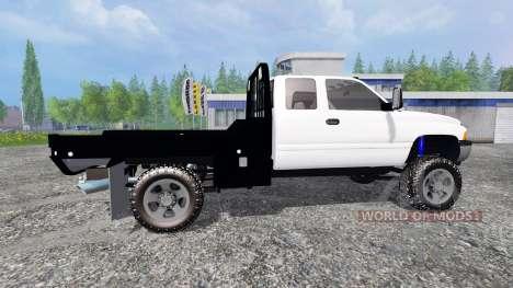 Dodge Ram 2500 [flatbed] for Farming Simulator 2015