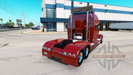 Concept truck 2020 Raised Roof Sleeper for American Truck Simulator