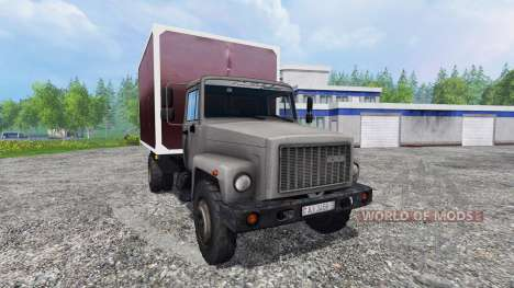 GAZ-3307 v1.1 for Farming Simulator 2015