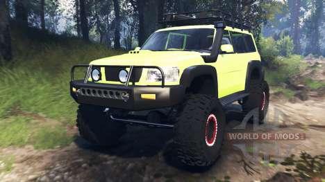 Nissan Patrol v3.0 for Spin Tires