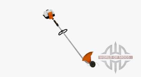 Manual petrol lawn mower for Farming Simulator 2017