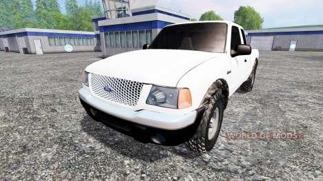 Ford Ranger 2001 for Farming Simulator 2015
