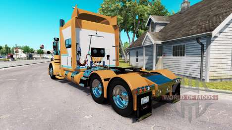 Skin for Chad Blackwell Peterbilt 389 tractor for American Truck Simulator
