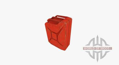 Steel fuel Jerry can 20 liters for Farming Simulator 2017