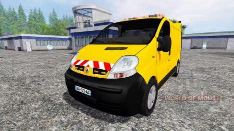 Renault Trafic [werkstattwagen] for Farming Simulator 2015