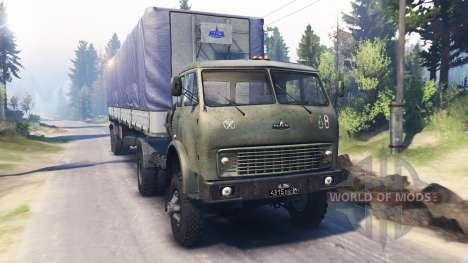 MAZ-504В v2.0 for Spin Tires