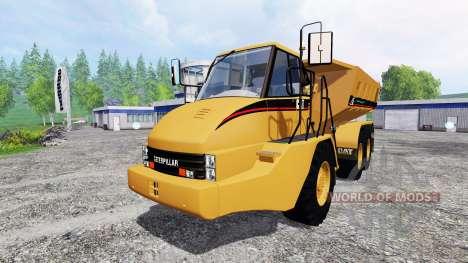 Caterpillar 725A [dump] v2.5 for Farming Simulator 2015