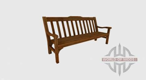 Garden bench for Farming Simulator 2017