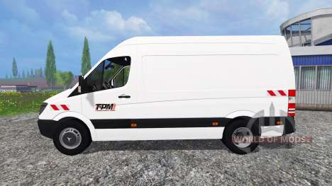 Mercedes-Benz Sprinter 311 CDI for Farming Simulator 2015