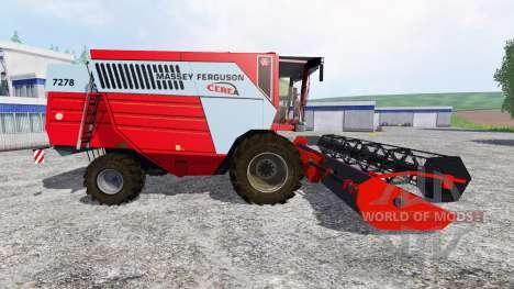 Massey Ferguson 7278 for Farming Simulator 2015